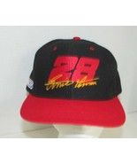 Nascar Racing Hat cap #28 Ernie Irvan Nutmeg snapback black red USED - $9.89