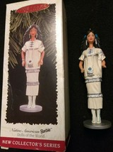Native American BARBIE dolls if the world 1996 Hallmark Ornament - $5.50