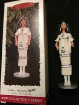 Native American BARBIE dolls if the world 1996 Hallmark Ornament - $5.50