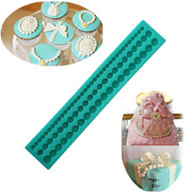 Pearls Strip Silicone Fondant Molds Chocolate Cake Decorating Accessorie... - ₨698.56 INR