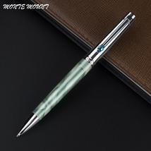 school diamond pen luxury Ball-point Pen Stainless Steel Rod Rotating Me... - $53.99
