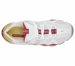Skechers D'lites 2 shoes White Pink Women Sport Comfort Casual Memory Foam 12937 image 5