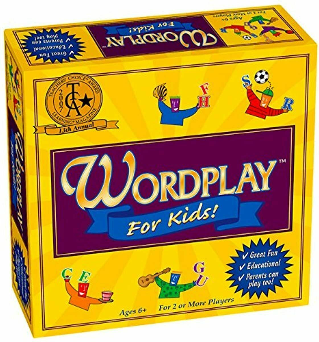 Toys Hobbies Games Wordplay for Kids - Board Game for Kids Ages 6-12 NEW - $40.20