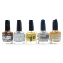 Maybelline Forever Strong Nail Polish set of 5: Taupe Couture, Oh So Clo... - $11.99