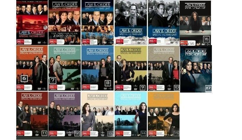 Law & And Order SVU Complete Series Seasons 1-17 Collection DVD Sets [New]