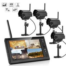 ENNIO SY602E14 7 inch TFT Digital 2.4G Wireless Audio Video 4CH Quad DVR... - $329.84