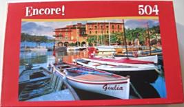"504 Piece Jigsaw Puzzle ""Torri Del Benaco Harbor"" [Brand New] - $10.55"