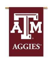 Texas A&M Aggies 28 X 40 Premium 2-Sided Banner With Pole Sleeve  - $37.95