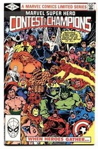 Marvel Super Hero Contest of Champions #1-1982-Comic Book-High Grade NM- - $37.83