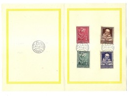 VATICAN CITY - First Day Folders - 1960 - 2 issues image 1