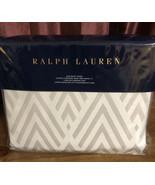 Ralph Lauren Penthouse Grey Clayton King Duvet Cover - $175.75