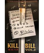 KILL BILL SIGNED POSTER - $180.00