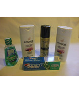 Pantene and Crest  Travel Size Kit 5 PC Toiletries For Travel - $14.83