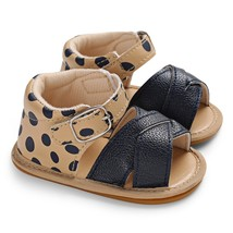 c - 556 Baby Girls Sandals First Wa color BLACK size EU 21 - $12.58