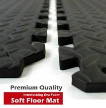 Interlocking Eva Foam Floor Mat Soft Gym Exercise Garage House Office Ma... - $5.78+