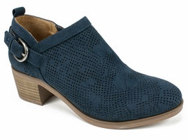 Womens White Mountain Avenue Bootie - Navy/Suedette Size 8 image 1