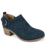 Womens White Mountain Avenue Bootie - Navy/Suedette Size 8 - $66.99