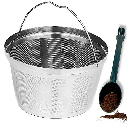 Reusable 8-12 Cup Basket Coffee Filter fit for Mr. Coffee Black & Decker Coffee