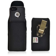 Heavy Duty Rugged Nylon Metal Clip Magnetic Case fits iPhone 6 PLUS - $39.99