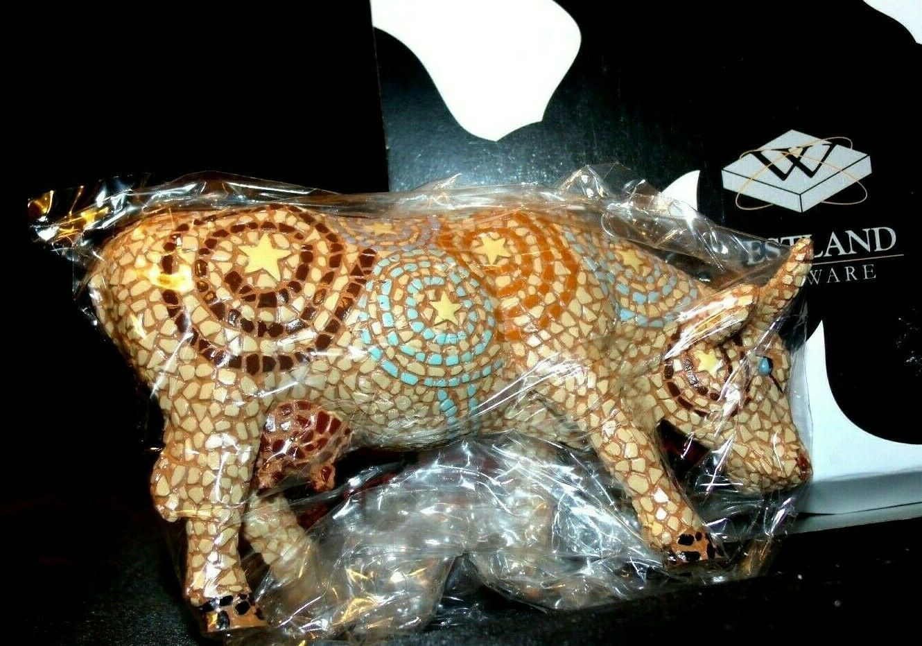 CowParade A Starry Night In Texas Item # 7255 Westland Giftware AA-191893 Vinta