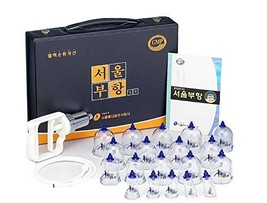 SeoulMedical Cupping Therapy Equipment 19 Cups Set for Beginner with Pum... - $71.52