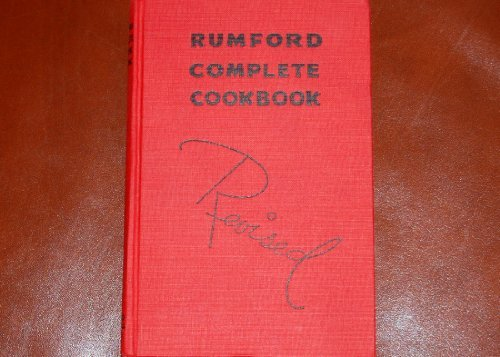 Primary image for The Revised Rumford Complete Cook Book [Hardcover] Wallace, Lily Haxworth