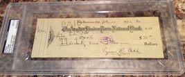 Ty Cobb Signed Autographed Vintage Personal Check (PSA/DNA Slabbed) - $3,499.99