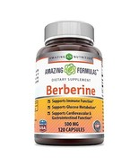 Amazing Formulas Berberine 500mg 120 Capsules - Supports Immune Function... - $18.73