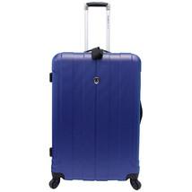 "Traveler Choice Navy Cambridge 28"" Lightweight Spinner Travel Luggage Su... - $83.15"