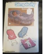 Simplicity 6718 Babies Travel Accessories 16 Pcs.  1984 - $11.87