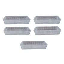 Silicook Kitchen Refrigerator Organizing Basket Tray Organizer Set (5 counts) image 1