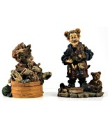 "1st Ed. Boyds Bear & Friends Knittin Kitten & 3rd Ed  ""Bean"" The Elfmaker - $14.84"