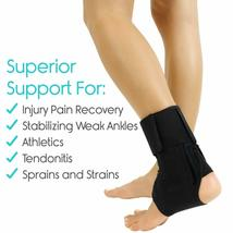Vive Lace Up Ankle Brace - Foot Support - Size Medium (OPEN BOX NEW) USA----FL image 7