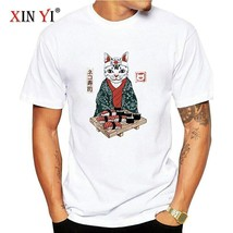 Men`s Fashion Casual Cotton Short Sleeve Japanese Anime Spring T-shirt  - $12.45+
