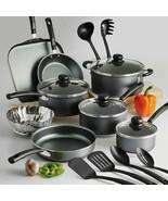Non Stick Cooking Pots and Pans & Lids 18 Piece Cookware Set Nonstick Tr... - $54.40