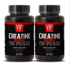 workout and bodybuilding, Creatine Tri-Phase 5000mg, exercise and perfor... - $28.01