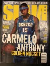 2003 November Slam Magazine Carmelo Anthony Rookie Denver Nuggets NO LABEL - $4.99