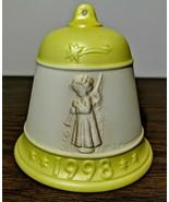 Goebel MJ Hummel Christmas Bell 1998 - $14.85