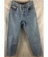 """American Eagle AE Straight Leg Button Fly Jeans Dungarees Size 4 Inseam 28"""" - $15.85"""