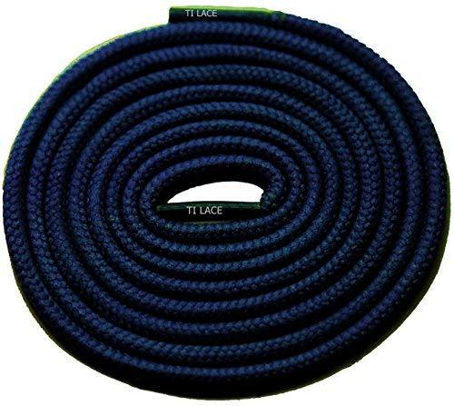 "Primary image for 54"" NAVY 3/16 Round Thick Shoelace For All Unisex Sneakers"