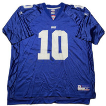 VTG Reebok On Field New York Giants Eli Manning Jersey Men's Size 2XL Bl... - $39.53