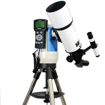 TwinStar White 80mm iOptron Computer Controlled Refractor Telescope - $1,111.31