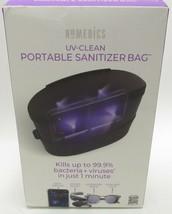 HoMedics UV-Clean Portable Sanitizer Bag Kills Viruses and Germs in 1 Mi... - $39.99