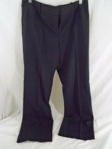 Preowned Ann Taylor Loft Lined Faded Black Dress Pants Size 10P - $17.30