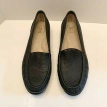 SAS Women Tripad Comfort Black Leather Slip On Loafer Flat Shoes Size 9 N - $31.99