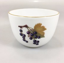 "Royal Worcester Evesham Gold Porcelain Fruit Candy Nut Bowl Dish 4"" x 2 ... - $29.16"