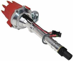 Pro Series R2R Distributor for Chevrolet SBC BBC with Fixed Collar Red Cap image 7