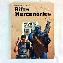 Palladium RPG RIFTS Mercenaries 1994 1st Edition 1st Printing CJ Carella... - $14.84