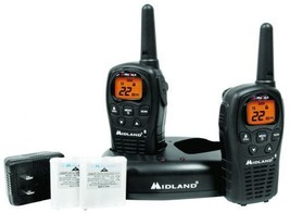 Midland - LXT500VP3 - 22-Channel Gmrs 24-Mile Gamma Due-Vie Radio Walkie... - $44.50