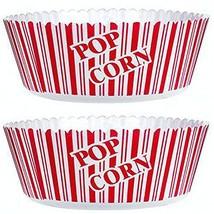 "Popcorn Serving Bowl Large 10"" X 4.75""- Set of 2 Tubs - ₹625.48 INR"